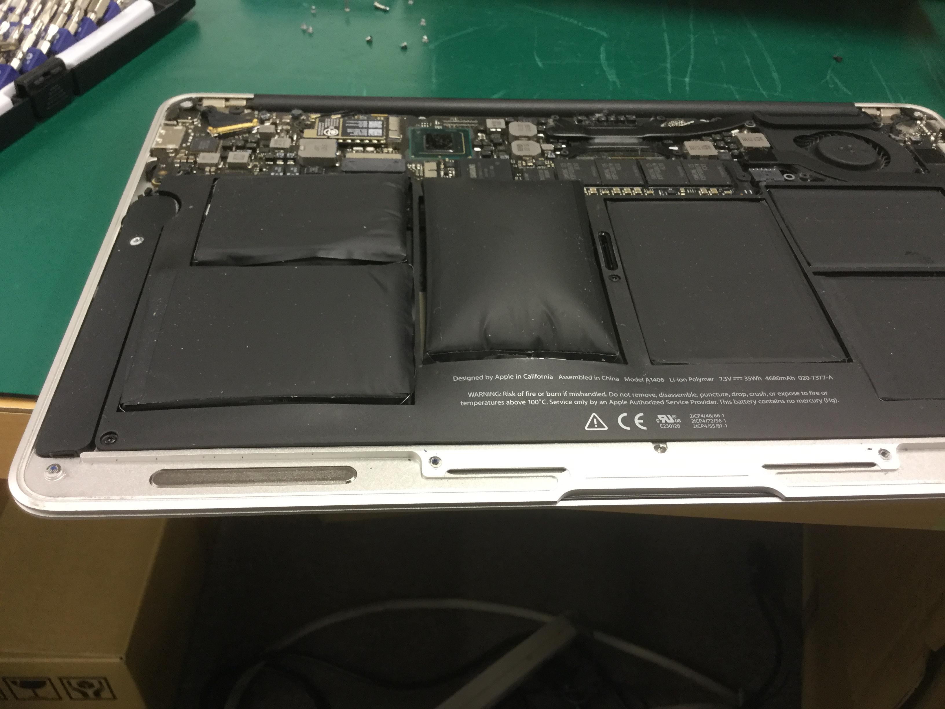 大阪府吹田市 ノートパソコンが充電できない/Apple Mac OS Xのイメージ