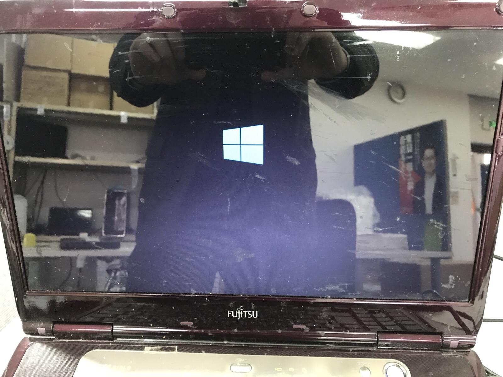 福岡県福岡市 ノートパソコンが起動しない/富士通 Windows 10のイメージ