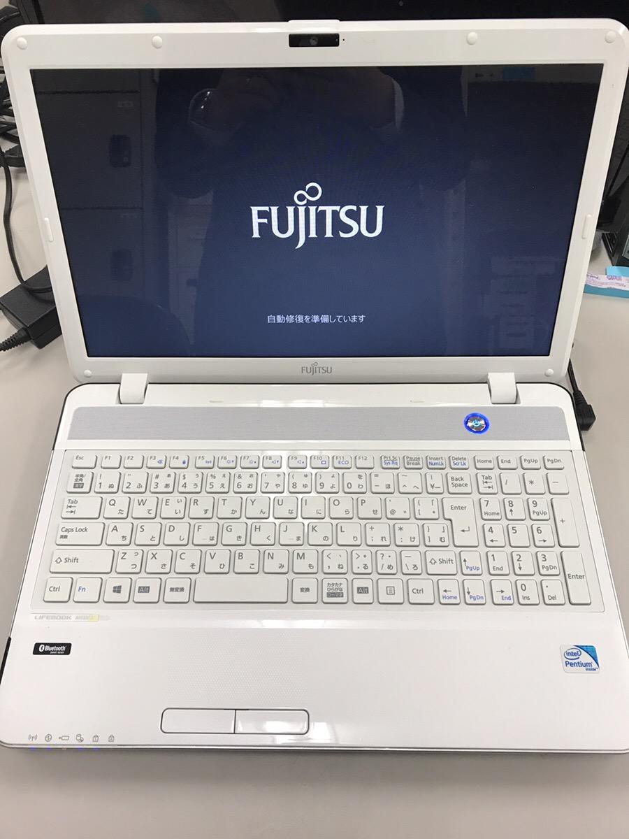 滋賀県草津市 ノートパソコンが起動しない/富士通 Windows 8.1/8のイメージ