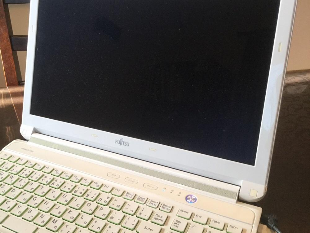 大阪府堺市 ノートパソコンが正常に起動しない/富士通 Windows 10のイメージ
