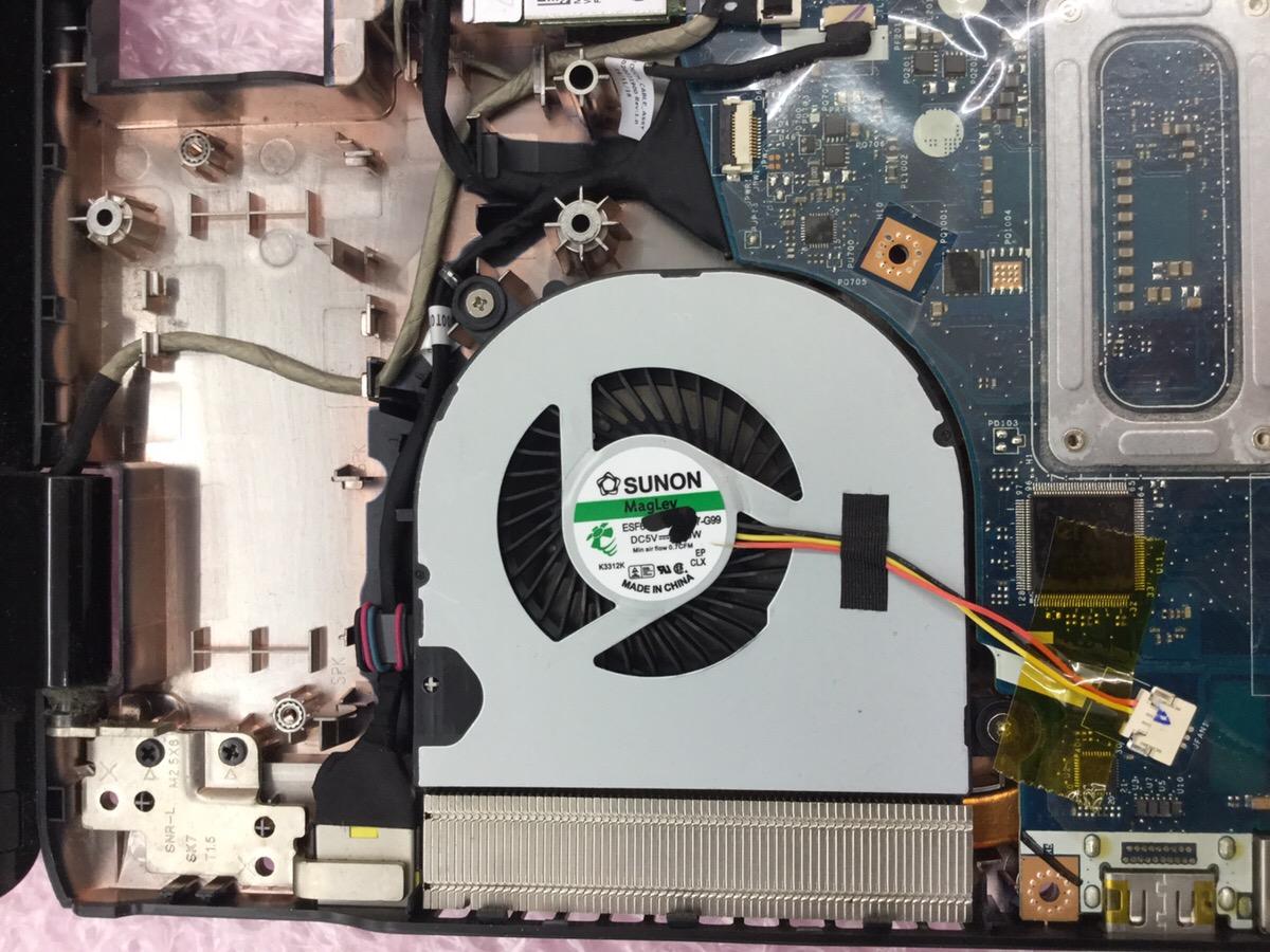 千葉県佐倉市 ノートパソコンの電源が落ちる/NEC Windows 10のイメージ