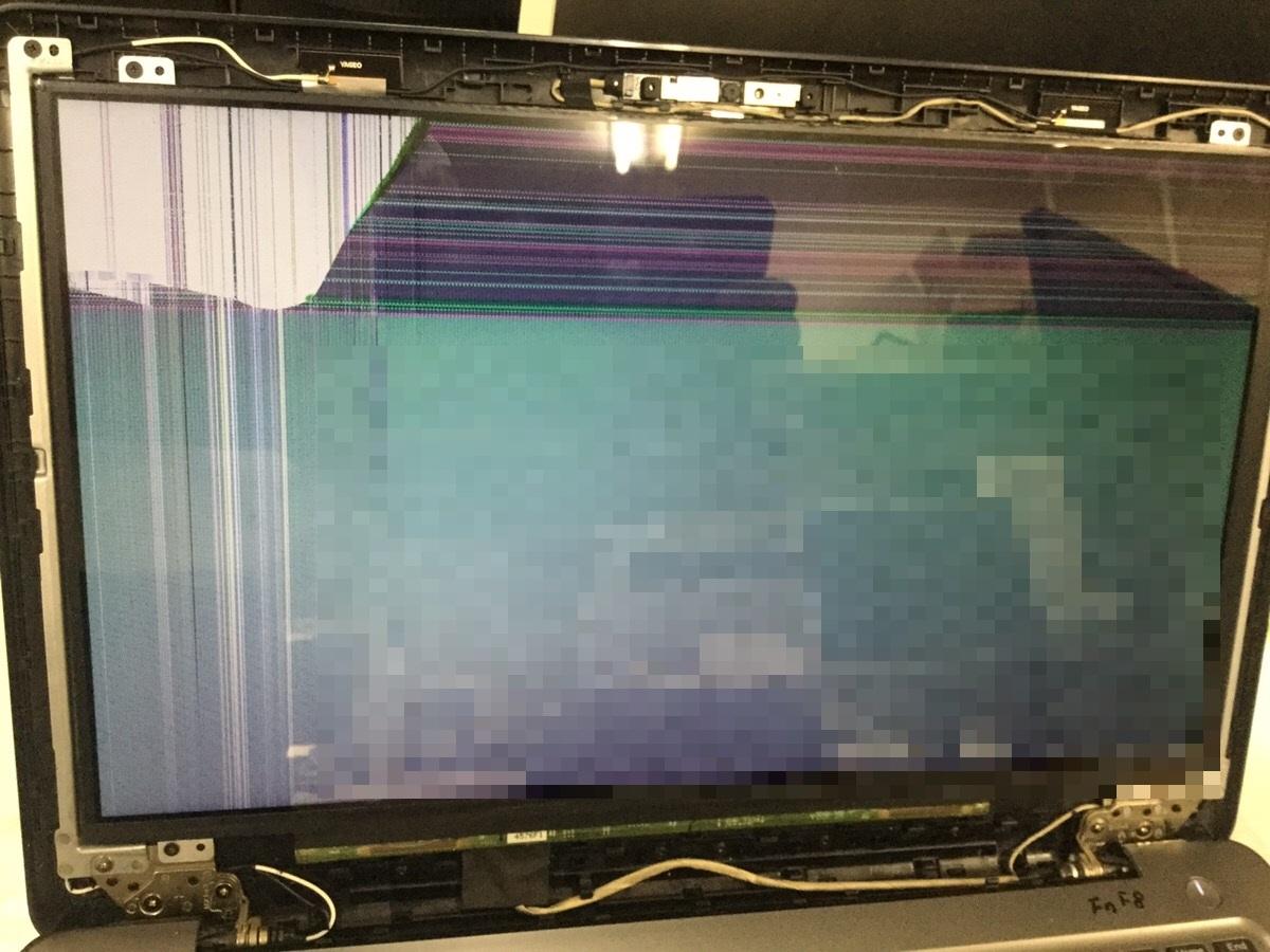 広島県広島市南区 ノートパソコンの画面にノイズ/DELL(デル) Windows 10のイメージ
