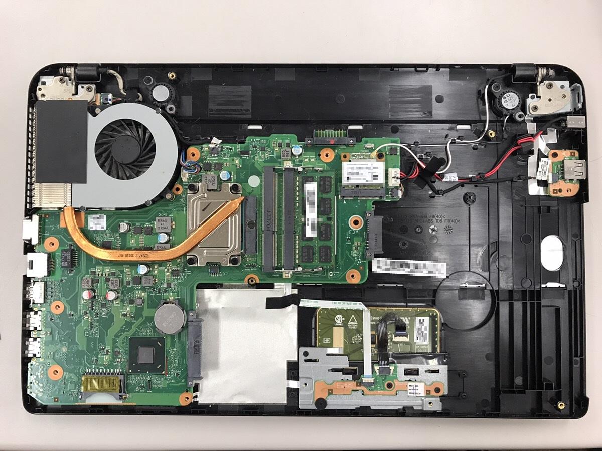 京都府京都市西京区 ノートパソコンの電源が落ちる/東芝 Windows 10のイメージ