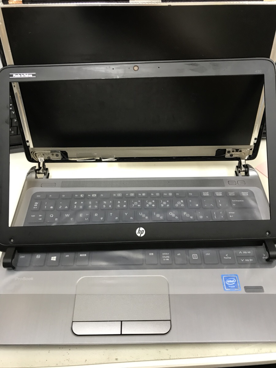 広島県廿日市市 ノートパソコンの液晶関連トラブル/HP(ヒューレット・パッカード) Windows 7のイメージ