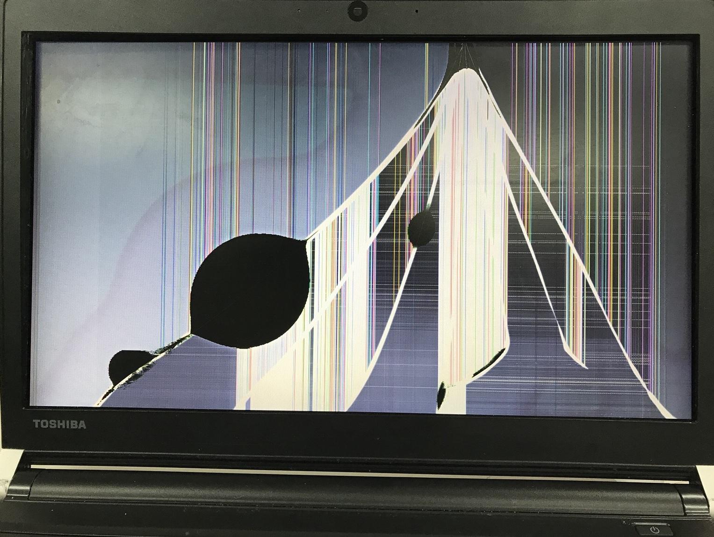 福岡県福岡市博多区 ノートパソコンの液晶パネル交換/東芝 Windows 10のイメージ