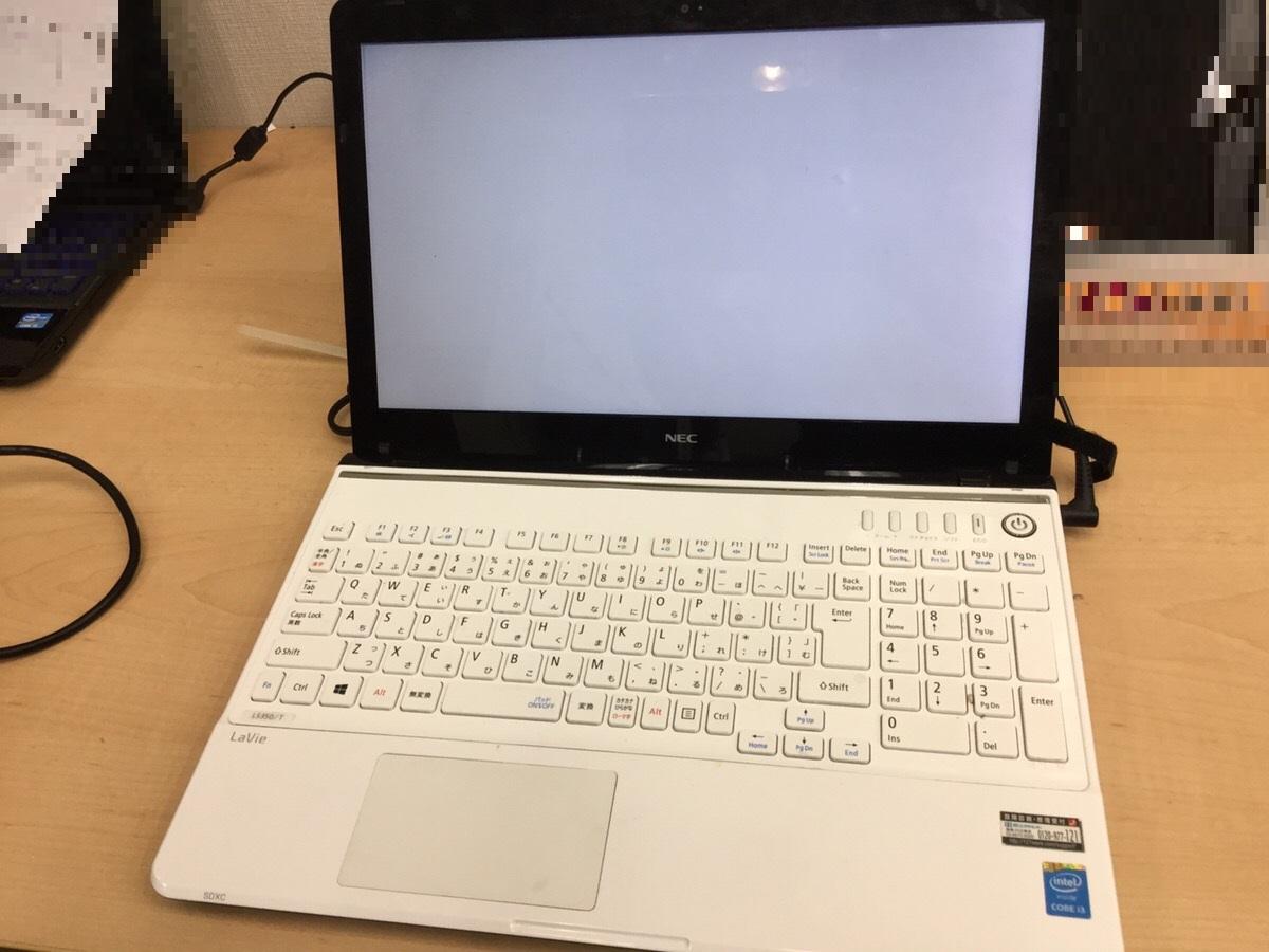 東京都目黒区 ノートパソコンとデスクトップパソコンが2台とも起動しない/NEC Windows 8.1/8のイメージ