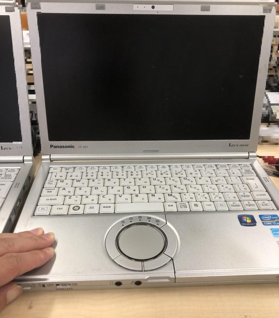兵庫県尼崎市 ノートパソコンの電源が入らない/パナソニック Windows 8.1/8のイメージ