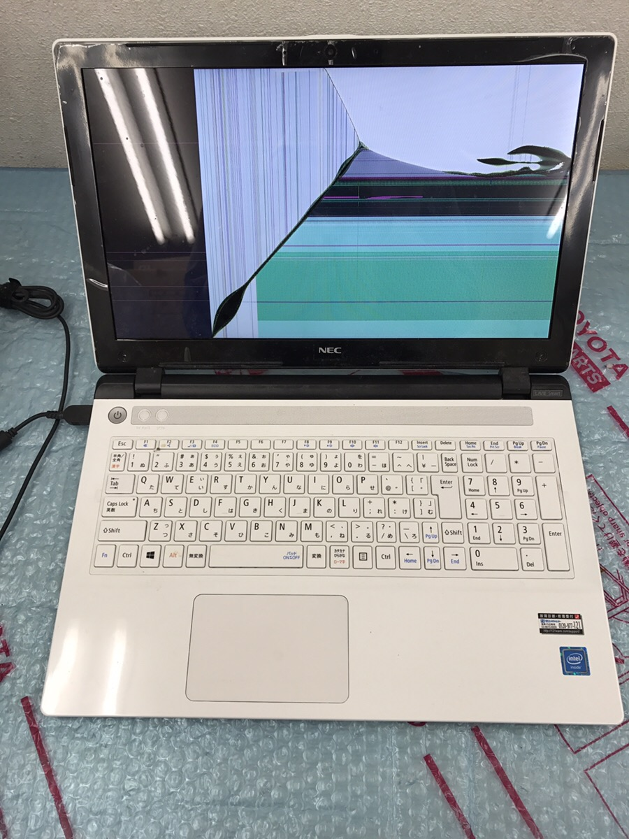 京都府京都市上京区 ノートパソコンの液晶関連トラブル/NEC Windows 10のイメージ