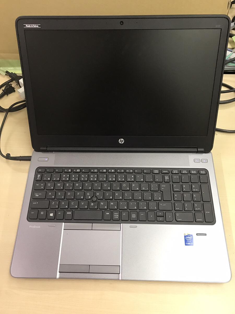大阪府大阪市東淀川区 ノートパソコンの液晶画面に何も表示されない/HP(ヒューレット・パッカード) Windows 10のイメージ