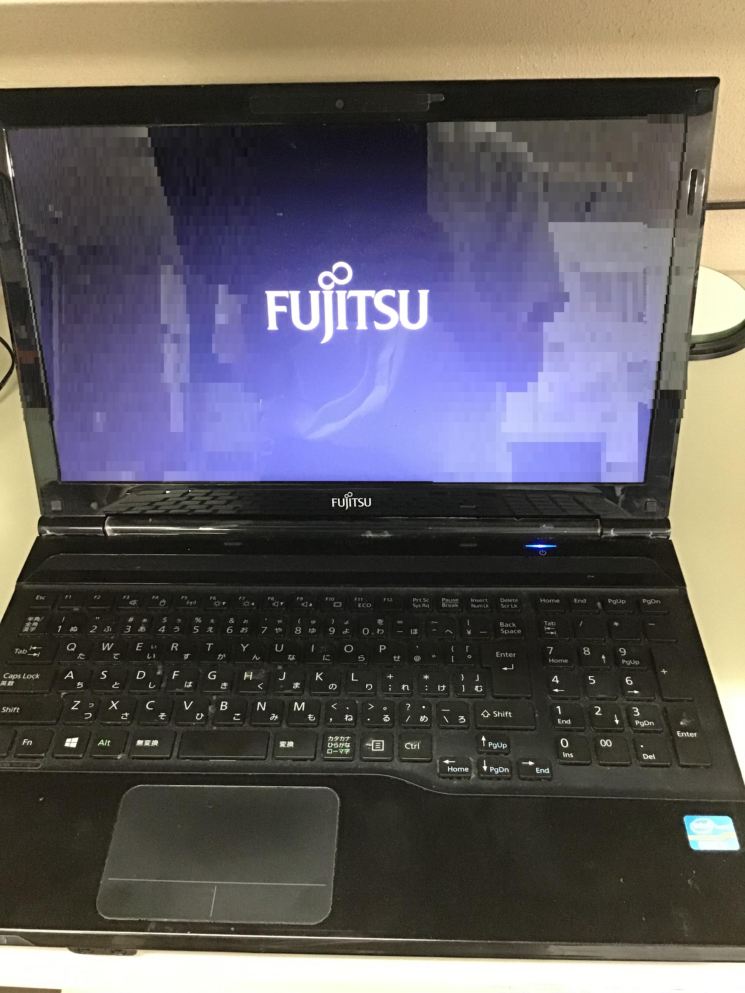 神奈川県茅ヶ崎市 ノートパソコンが起動しない/富士通 Windows 8.1/8のイメージ