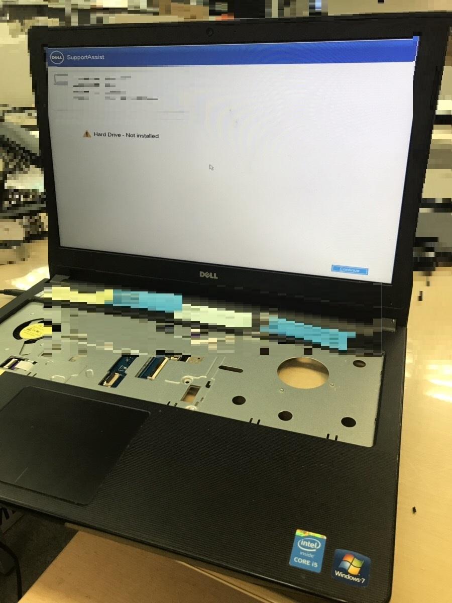 東京都中野区 ノートパソコンが起動しない/DELL(デル) Windows 10のイメージ
