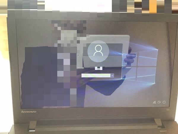 福岡県福岡市東区 ノートパソコンが起動しない/レノボ Windows 10のイメージ