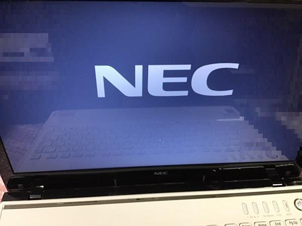 神奈川県藤沢市 ノートパソコンが起動しない/NEC Windows 8.1/8のイメージ