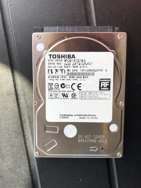福岡県北九州市小倉北区 ノートパソコンの内蔵HDDを内蔵SSDに交換/ソニー(VAIO) Windows 8.1/8のイメージ