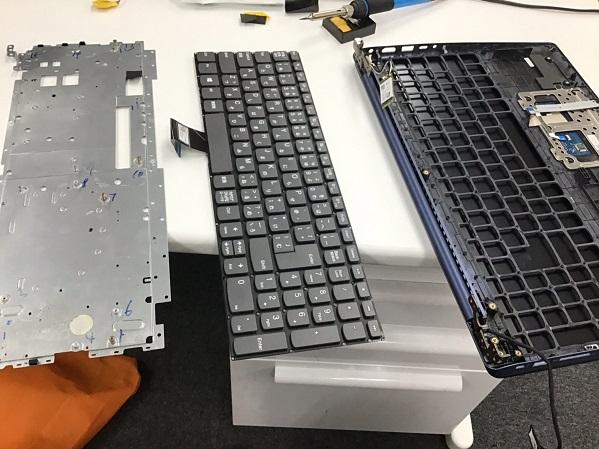 三重県桑名市 ノートパソコンのキーボードに反応がない箇所がある/レノボ Windows 10のイメージ