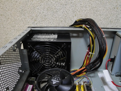 福岡県久留米市 デスクトップパソコンの電源が入らない/ドスパラ Windows 10のイメージ